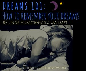 DREAMS 101: How to remember your dreams